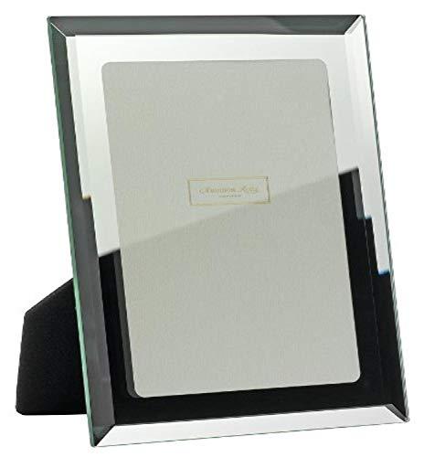 Addison Ross - Cornice portafoto in Vetro specchiato con Bordo smussato, 13x18 cm