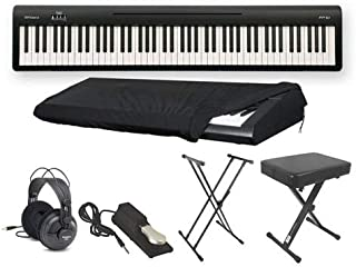 Roland FP10 Ultra Deluxe Piano Package with Keyboard Stand, Headphones, Sustain Pedal, Bench, and Keyboard Cover