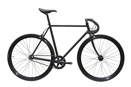 CARTEL BIKES カーテルバイク AVENUE COMPLETE BIKE アベニュー コンプリートバイク (ブラック(BLACK), 49cm)
