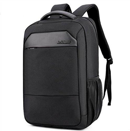 beibao shop Backpack - Grande capacité Entreprise Sac à Dos d'ordinateur Poids léger imperméable Antivol Sac à Dos pour Ordinateur Portable Antichoc Salle Informatique, Black