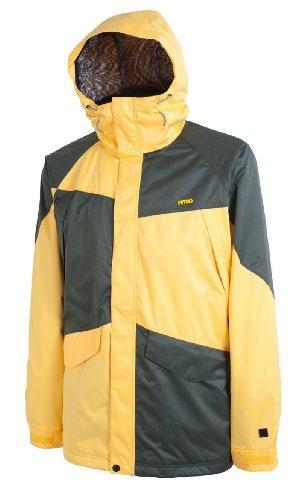Nitro Snowboards Closer 13 Veste pour Homme XL Multicolore - Yellow-Flint