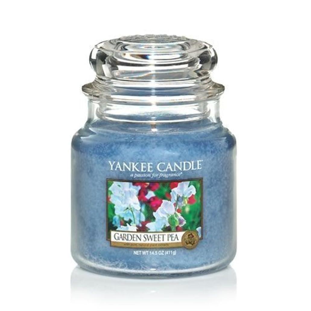 気になる無意識アメリカYankee Candle 14.5 Oz Jar Candle Garden Sweet Pea by Yankee Candle [並行輸入品]