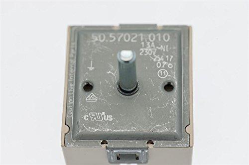 daniplus Energieregler passend für EGO 5057021010 / AEG Electrolux 315078823, Bosch/Siemens 152445, Miele 4572290