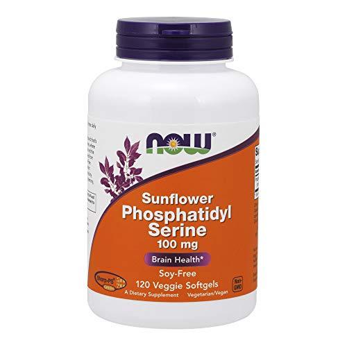 Now Now Sunflower Phosphatidyl Serine (100mg) 120 sgels