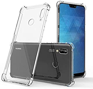 RKINC Case for Huawei Honor 8X, Crystal Clear Reinforced Corners Soft TPU Bumper Cushion + Hybrid Rugged Hard Transparent Panel Cover forHuawei Honor 8X