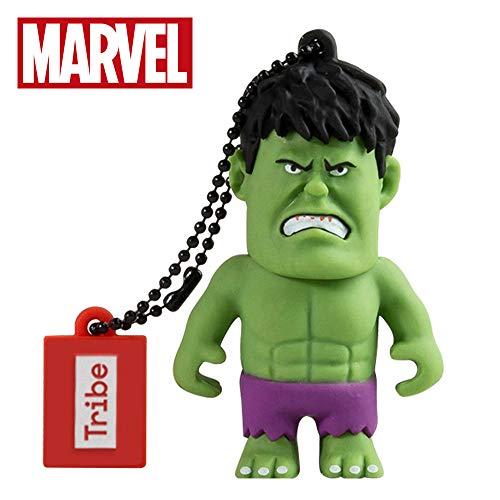 USB Stick 16 GB Hulk - Speicherstick Memory Stick 2.0 Original Marvel Avengers, Tribe FD016502