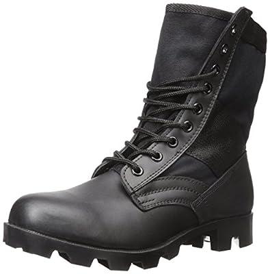 Stansport Jungle Boots, Black, 10R