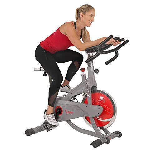 Sunny Health & Fitness AeroPro Indoor Cycling Bike - SF-B1711, Grey
