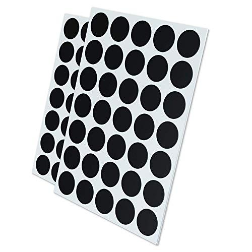 GAUDER 70x Magnetpunkte selbstklebend   Magnetplättchen   Magnet-Plättchen für Fotos, Postkarten & Schilder
