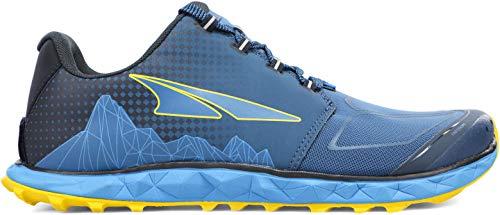 ALTRA Men's AL0A4VQB Superior 4.5 Trail Running Shoe, Blue/Yellow - 11 M US