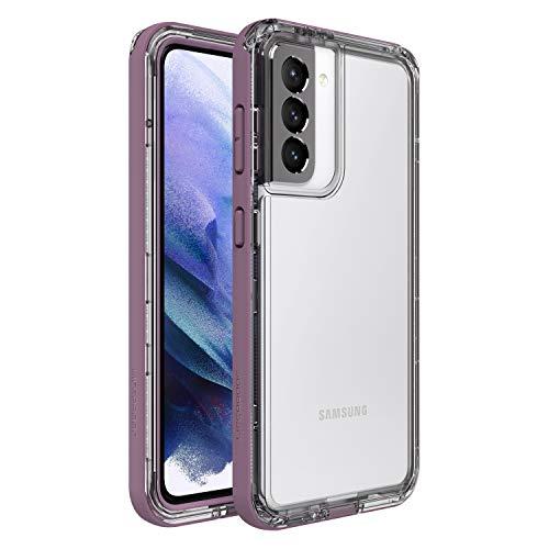 LifeProof Custodia Next Resistente a Caduta, Polvere e Neve per Samsung Galaxy S21, Trasparente/Viola