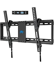 """Mounting Dream TV Wall Mount for Most 37-70 Inches Flat Screen TVs with Tilting, Low Profile & Space Saving Wall Mount for 16"""",18"""",24"""" Studs, TV Mount Bracket with VESA 600 x 400mm Holds up to 132lbs"""