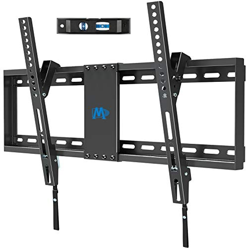"Mounting Dream TV Wall Mount for Most 37-70 Inches Flat Screen TVs with Tilting, Low Profile & Space Saving Wall Mount for 16"",18"",24"" Studs, TV Mount Bracket with VESA 600 x 400mm Holds up to 132lbs"