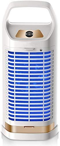 SAFGH Lámpara eléctrica para Matar Mosquitos, Insectos, trampas para Moscas, lámparas de Control, Descarga eléctrica silenciosa para Interiores, Tipo de Enchufe doméstico, Completamente automático