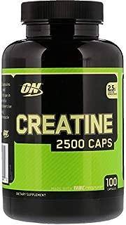オプティマムニュートリション(Optimum Nutrition) クレアチン2500 キャップス 100カプセル [並行輸入品]