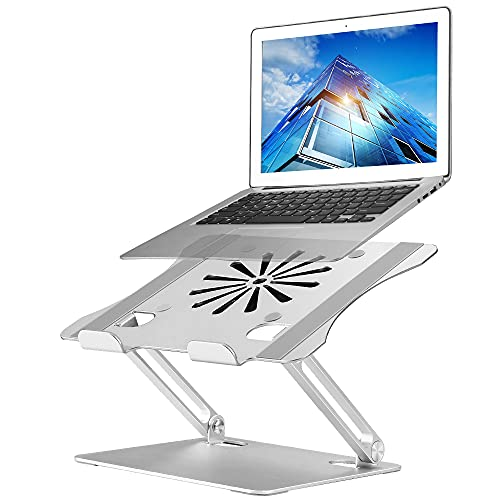 Adjustable Laptop Stand with Cooling Fan, Aluminium Alloy Multi-Angle...