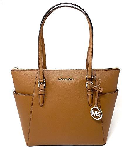 Michael Kors Charlotte Large Top Zip Tote Luggage