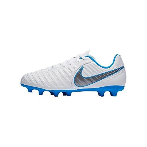 Nike Tiempo Legend 7 Club FG JR AH7255 107 Botas de Fútbol Unisex Adulto Multicolor (Indigo 001), 38 EU