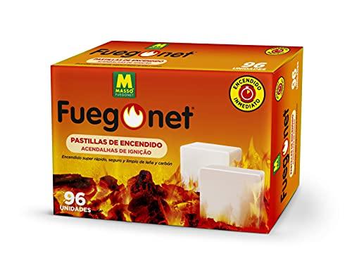 FUEGO NET Fuegonet 231442N Pastillas, Blanco, 19.5 x 6.2 x 12.8 cm