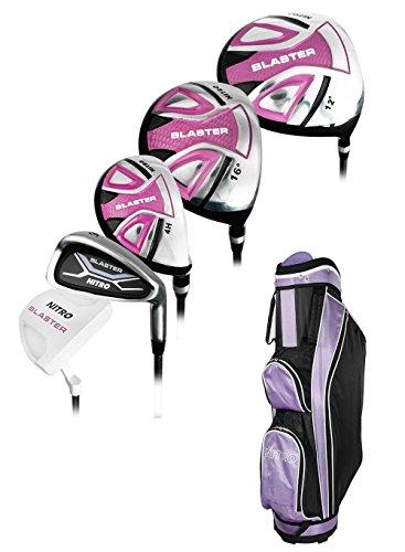Nitro Golf- Ladies Blaster 13 Piece Complete Set with Bag Ladies Flex