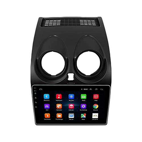 ZERTRAN Autoradio Multimedia-Player DVD Android 9.1 Vier Kern RAM 1G ROM 16G Zum Nissan Qashqai 2008 2009 2010 2011 2012 2013 2014 2015