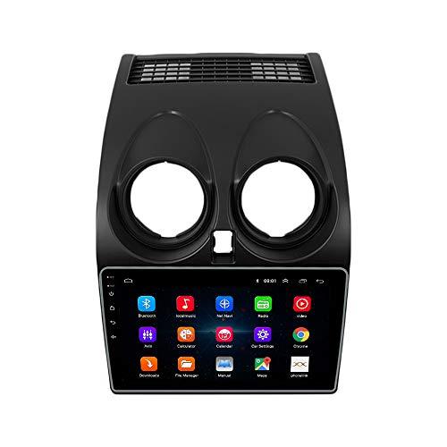 Android 10 Autorradio Navegación del Coche Unidad Principal Estéreo Reproductor Multimedia GPS Radio 2.5D IPS Pantalla táctil porNissan Qashqai 2008-2015