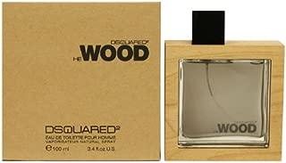 Dsquared2 He Wood By Dsquared2 For Men Eau De Toilette Spray, 3.4-Ounce / 100 Ml