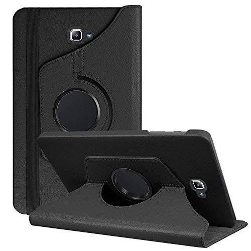 DETUOSI Funda Compatible con Galaxy Tab A6 10.1 2016, 360° Fundas Cubierta de PU Cuero Smart Case Cover Protectora Carcasa con Stand para Galaxy Tab A 10.1 Pulgadas SM-T580N/T585N