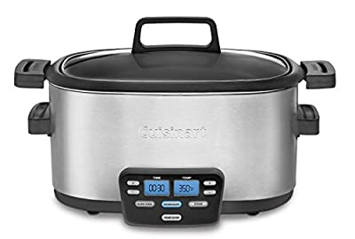Cuisinart Cook Central Slow Cooker - 3-in-1 - 6 quart
