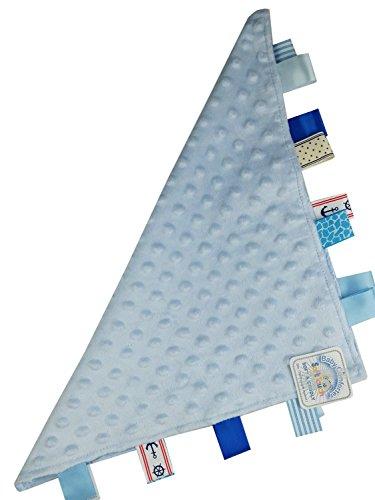 Soft Touch Bleu étiquette Couverture confort