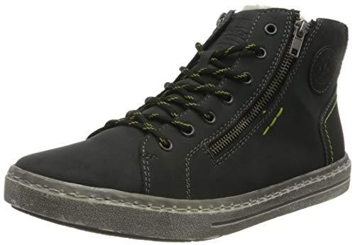 Rieker Herren 30922 Mode-Stiefel, blau, 45 EU