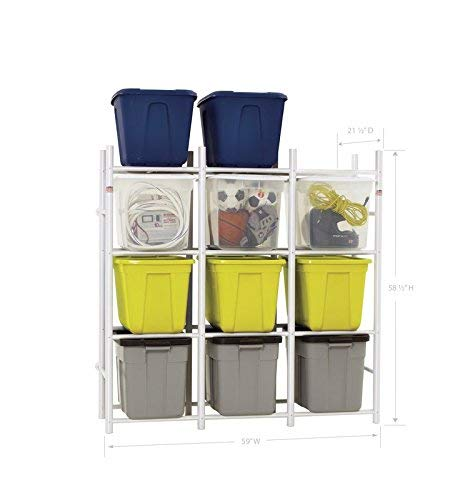 Bin Warehouse Storage Systems 12 Compact Shelving system for storing plastic bins totes and tubs