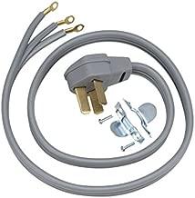 GE WX09X10010 Genuine OEM Power Cord (Grey) for GE Range/Stove/Ovens
