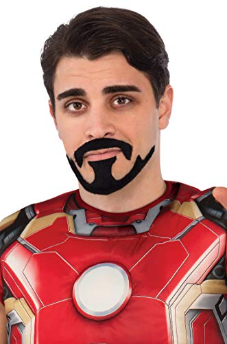 Rubie's Men's Avengers 2 Age Of Ultron Iron Man Tony Stark Mustache, Black, One Size