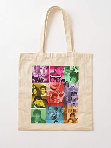 Rukh Shahrukh Bollywood Khan Shah Movies Shahrukhkhan Srk | Einkaufstaschen aus Leinen mit Griffen, Einkaufstaschen aus langlebiger Baumwolle