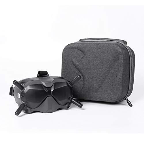 Ufilter Flying Glasses V2 caso de almacenamiento maleta protección contra caídas caja de transporte portátil duro Shell para DJI FPV Accesorios