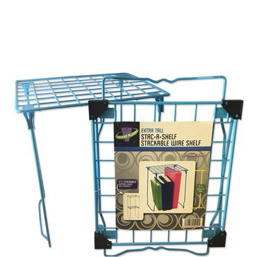 Locker Planet Baby Blue - Extra Tall Stackable Wire Shelf - Exclusive Color Collection