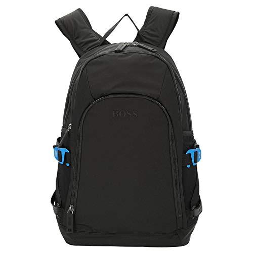 BOSS Krone_backpack, Men's Backpack, Black, 18x47x30 cm (B x H T)