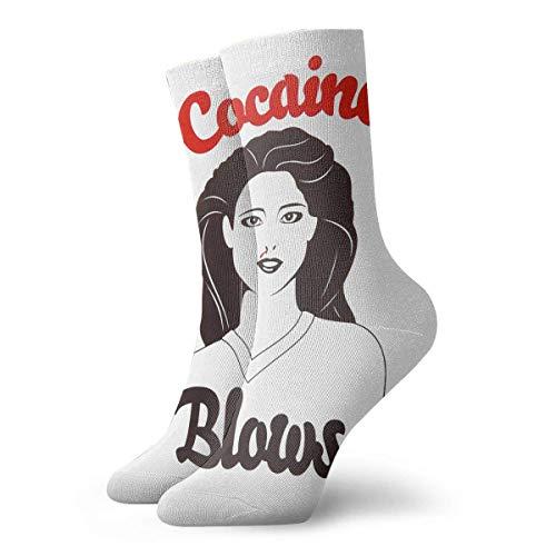 N\A Ladies Cocaine Blows Socks Schweißabsorbierende weiche Socken