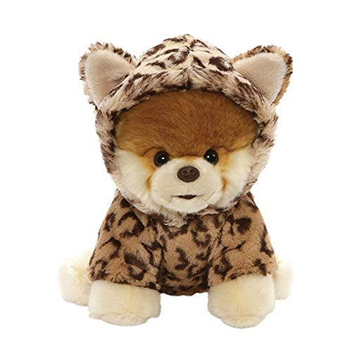 GUND Worlds Cutest Dog Boo Leopard Outfit Plush Stuffed Animal 9