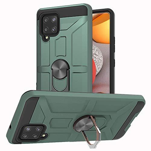 Cuqing - Funda para Samsung Galaxy A42 5G, A42 Hull, funda para teléfono móvil antigolpes, silicona fina, protección 360 grados, con soporte para Samsung Galaxy A42 5G.