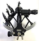 Peerless Instrumento sextante, navegación Saxtant, sextante Real, sextante Trabajando, Tamaya Sextant Antik Funcional Original Vintage, decoración de Aluminio náutico de Metal Marino