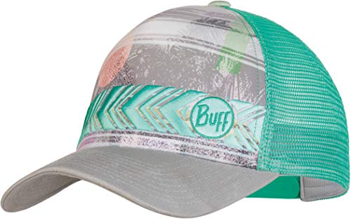 Buff Damen Trucker Cap, Biome Aqua, One Size
