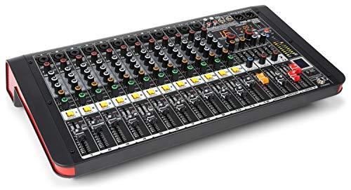 Power Dynamics PDM-M1204A Mesa de mezclas 12 entradas para m