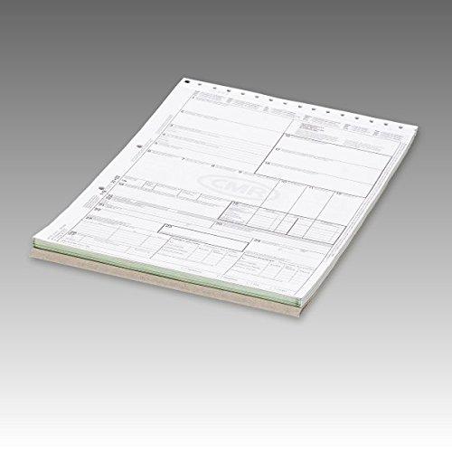 5 x CMR-Frachtbriefe Block 280705 internationaler Frachtbrief selbstdurchschreibend