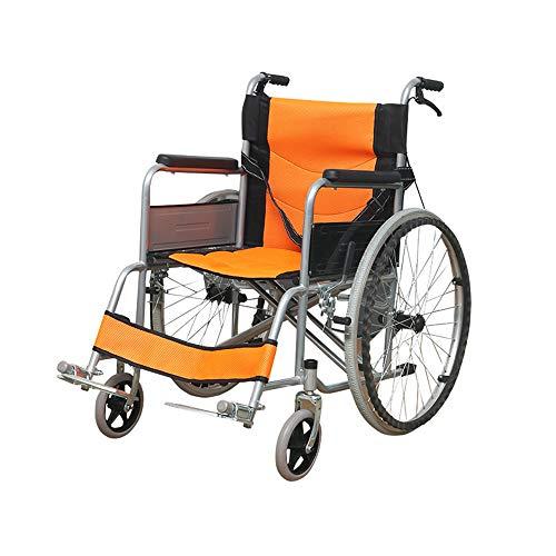 GJBHD Klapprollstuhl Alter Rollstuhl Verdickung Behinderter Rollstuhl Selbstfahrender Rollstuhl