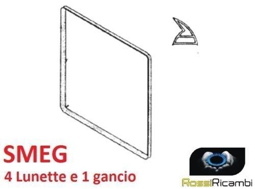 SMEG - Dichtung für Backofentür 60 cm Küche 5 Haken - 1460 mm -754130519