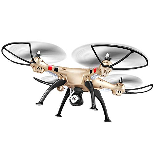 ZHCJH Drone WiFi FPV 1080P HD Camera, Best Drone for Beginners with Altitude Hold, Voice Control, Gesture Recognition Photography, Trajectory Flight, 3D Flips, Headless Mode, One Key Operation