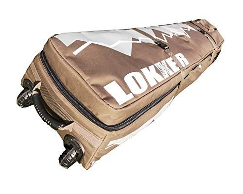 LOKKER Wintersport Reisetasche Wheelie Snowboard Skitasche