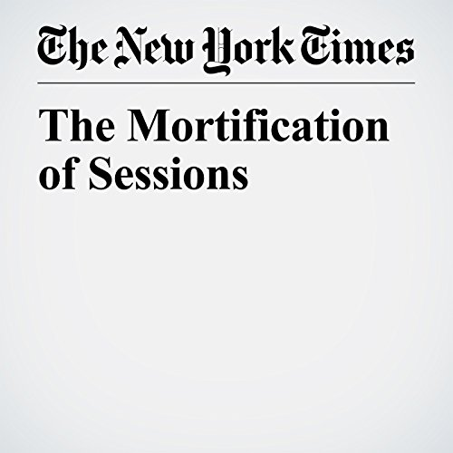 The Mortification of Sessions copertina